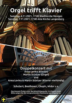 Konzert mit Martin Stürtzer und Anna Levina